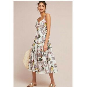 Anthropologie Cityscape Dress by Lazybones